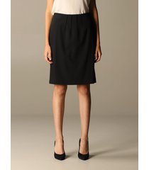 emporio armani skirt emporio armani skirt in wool and viscose blend