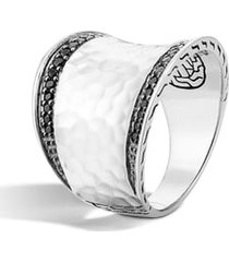 women's john hardy 'classic chain' small saddle ring