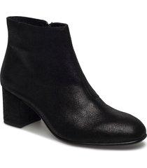 ankle boot shoes boots ankle boots ankle boots with heel svart ilse jacobsen