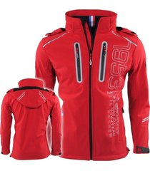 geographical norway heren softshell jas toucan - rood