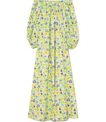 bobby cotton poplin dress in jellypop butter