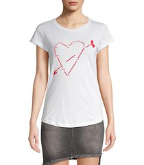skinny heart constellation tee