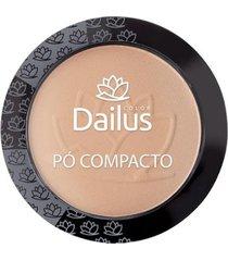 pó compacto dailus color - new 06 - bege médio