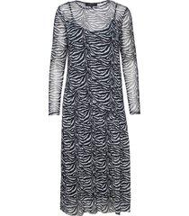 sandy dress maxi dress galajurk grijs soft rebels