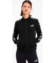 amplified trainingsjack voor dames, zwart/aucun, maat s | puma