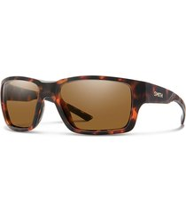 smith outback chromapop polarized sunglasses, brown