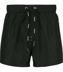 diesel sandy swim shorts - black