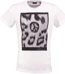 diesel wit t-shirt