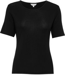 bamboo t-shirt top svart lady avenue