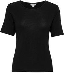 bamboo t-shirt top svart lady avenue