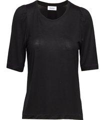 dorset t-shirts & tops short-sleeved zwart rodebjer