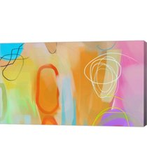 """metaverse waiting patiently by delores naskrent canvas art, 33.5"""" x 20"""""""