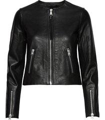 aster jacket läderjacka skinnjacka svart allsaints