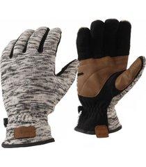 guantes cabin hoods blend-pro glove melange gris lippi