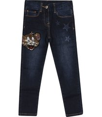 monnalisa embellished jerry jeans