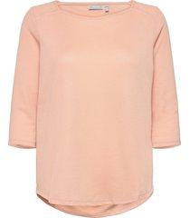 frpejacq 1 t-shirt t-shirts & tops long-sleeved rosa fransa