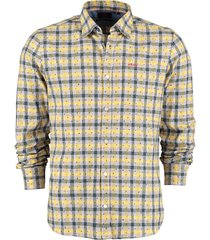 new zealand auckland overhemd walwera- 666 corn yellow