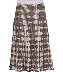 cyrilla knälång kjol brun baum und pferdgarten