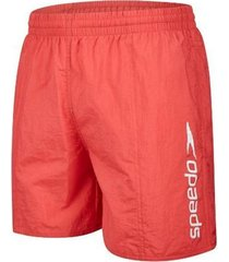 speedo scope zwembroek rood/wit, small