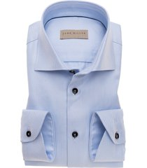 john miller overhemd licht pied de poule widespread tailored fit