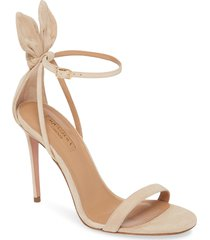 women's aquazzura bow tie stiletto sandal