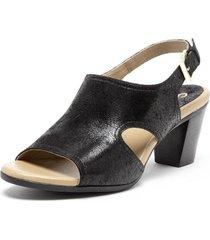 sandalia  negro  gacel
