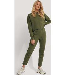 na-kd reborn raka basic sweatpants - green