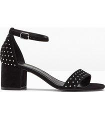 sandali in pelle (nero) - bpc selection