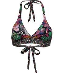 exotic dream halterneck top bikinitop multi/mönstrad odd molly underwear & swimwear