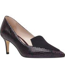 zapato sharpin morado oscuro nine west