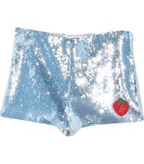 sonia rykiel enfant light blue shorts