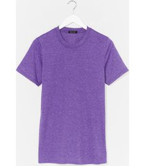 face the facts relaxed tee - purple