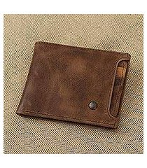 leather wallet, 'mahogany style' (mexico)
