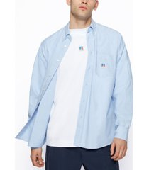 boss x russell athletic men's relaxed-fit shirt