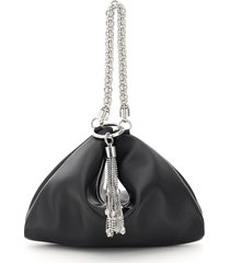jimmy choo callie evening clutch with chain