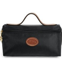 longchamp 'le pliage' pouchette, size one size - black