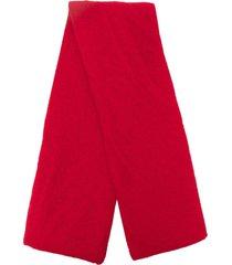 botto giuseppe lightweight cashmere scarf - red