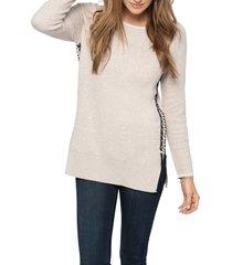 women's nic+zoe on my side cotton blend sweater