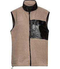 fleece vest vest beige rains