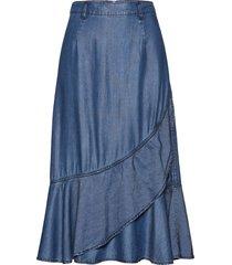 gonna di jeans (blu) - bpc selection premium