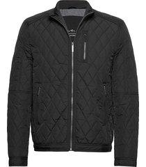 rocky balboa jacket doorgestikte jas zwart seven seas copenhagen