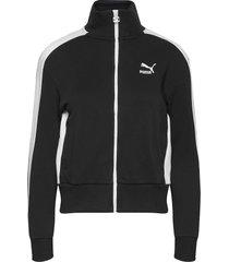 classics t7 track jacket ft sweat-shirt trui zwart puma
