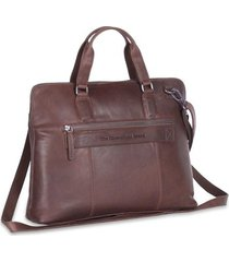 laptoptas chesterfield leren laptoptas 15 inch hana