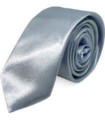 gravata concetto lisa seda prata