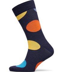 wool jumbo dot sock underwear socks regular socks blå happy socks