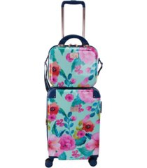 """chariot 2-pc. 20"""" carry-on and beauty case set"""
