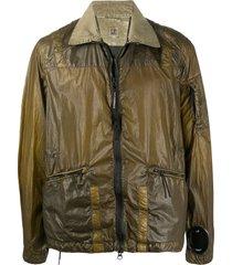c.p. company cuff lens jacket - green