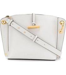 jw anderson structured shoulder bag - white