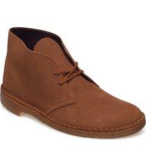 desert boot desert boots snörskor brun clarks