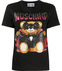 moschino bat teddy t-shirt - black